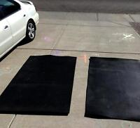 Two Rubber Mats