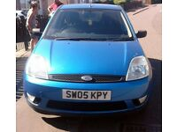 2005 Ford Fiesta Zetec 1.4. 5 Door Petrol. Full Year MOT.