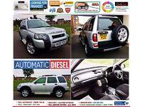 55 REG Land Rover Freelander 2.0 TD4 SE 5dr 1 YEAR MOT + FULL S/H +LEATHER *** AUTOMATIC ***