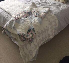 Pretty Cotton Patchwork Quilt
