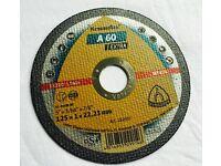 "28 x KLINGSPOR 125 x 1mm ( 5"" ) Cutting Discs A-60 Extra angle grinder wheel"