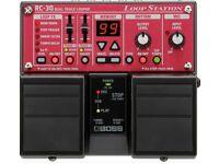 Boss rc 30 guitar loop pedal