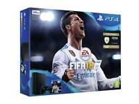 PS4 Slim Black 500GB with Fifa 18 BRAND NEW