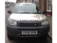 Land Rover Freelander 1 V6 GS. Dual-fuel (petrol , gas). Probable head gasket problem? Still runs .