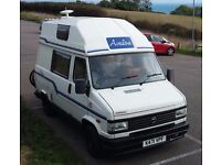 Talbot Express Campervan Motorhome with toilet and shower