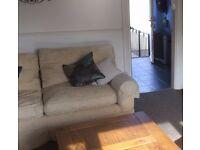 FREE super comfy feather sofa