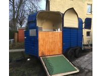Classic Horse trailer conversion/catering/burger van/coffee/bar