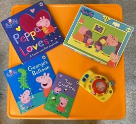 Peppy pig toys & books