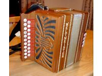Melodeon D/G Weltmeister - very good condition