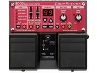 Boss rc 30 loop pedal