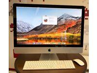 27-inch iMac, i5 Quad core, 24GB RAM, 256GB SSD + 1TB HDD