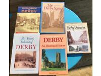 Derby Books x 5 - Local History