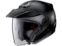 Nolan N40-5 + Cardo Coms System Classic N-Com Crash Helmet Flat Black - 2XL : 63 - 64
