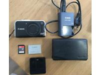 Canon Digital Camera PowerShot SX230 with accessories