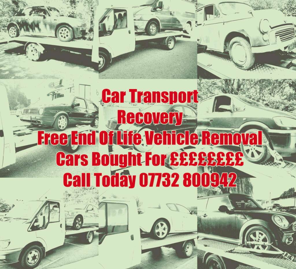 Scrap Car Collection & Removal Cars Wanted For Cash Mot Failure ...