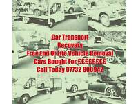 Car Transport Free Scrap Car Removal Cars Wanted For Cash Mot Failure Non Runners