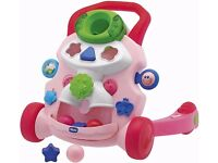 Chicco baby steps activity baby walker - pink