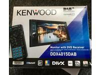 Kenwood car stereo dab radio dvd cd mp3