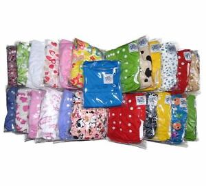Complete Cloth Diapering Kit - Diapers, Inserts, Wet Bags and More!