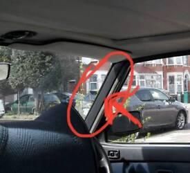 Bmw e28 interior trim pillar A pair black no damage 82-88 breaking spares 520i 525e m535 can post