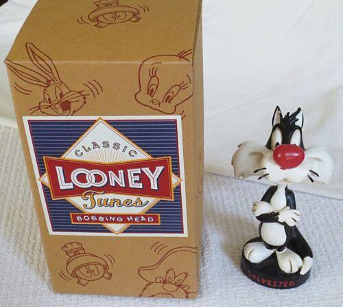 Warner Bros Vintage Looney Tunes 6 1/2-inch Sylvester Bobble-Head Figure-NIB