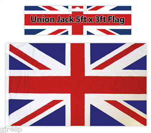 Union-Jack-Flag-3-ft-x-5-ft-Polyester-Great-Britain-World-Cup-Flag-Large