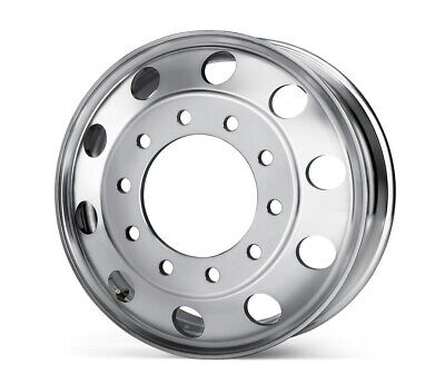 22.5 x 8.25 Aluminum Truck Trailer Alcoa Style Wheel Rim Hub Pilot Free Shipping ()