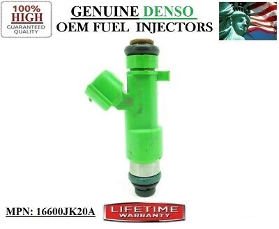 Single NEW Fuel Injector >FOR -08-09-10 Nissan Rogue 2.5L I4< DENSO <16600JK20A> 08 Nissan Rogue Single