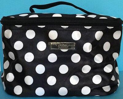 Gelish Polka Dot Tech Travel Case Bag for nail gel polish, tools, makeup Ltd Ed