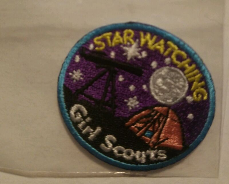 Girl scout camping patch