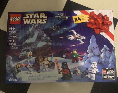 "Lego Disney ~ ""Star Wars"" Advent Calendar ~ # 75279 ~ 311 pcs ~ FREE SHIPPING"