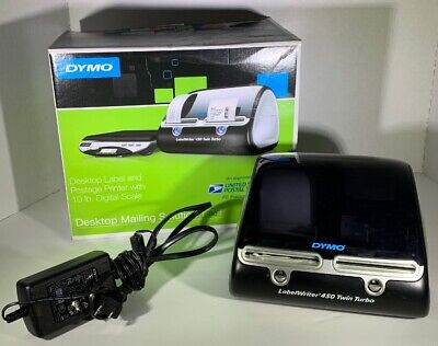 Dymo Label Writer 450 Twin Turbo Label Printer - Pre Owned - 1 Roll Of Labels