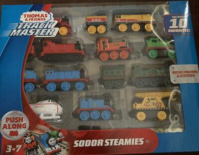 Thomas & Friends Trackmaster GFF07 Sodor Steamies Train Engines Set Toy