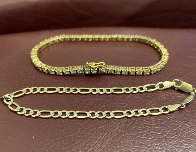 sterling silver Lot Of 2 Bracelets
