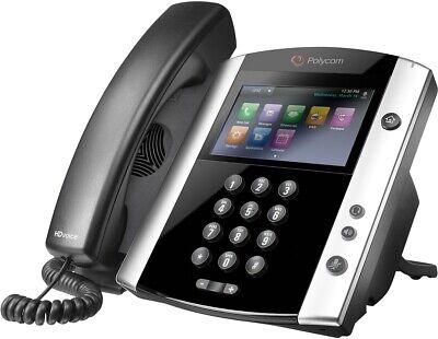 Polycom Vvx 501 12-lines Sip Voip Media Phone 2200-48500-001 Poe