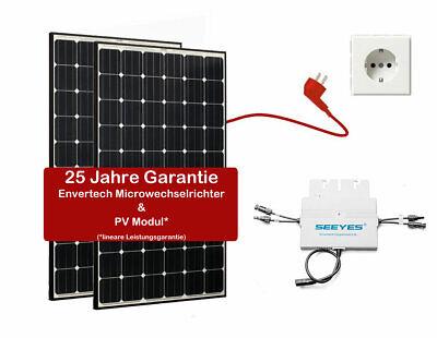 620W Solaranlage WINAICO Plug & Play Balkonkraftwerk PV Hausanlage EVT500 WR