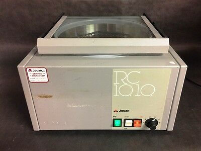 Jouan Rc10-10 Heated Centrifuge W Rotor  Rc1010