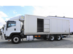 2008 ISUZU FVL1400 refrigerated pantech (*$380 per week) Narre Warren Casey Area Preview