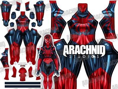 New Marvel Scarlet MJ Spider Girl 3D Printing - Mj Costume