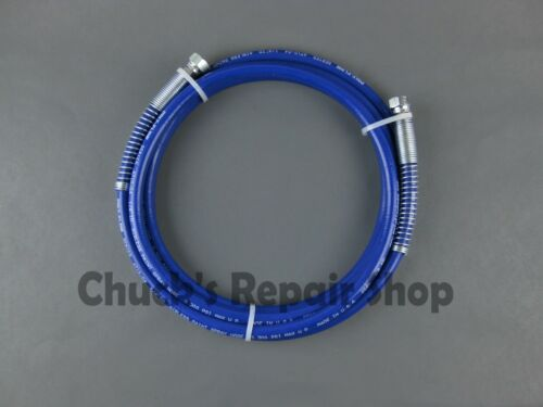 """Airless Spray Hose Assembly 3300psi 1/4"""" x 12ft. Whip"""