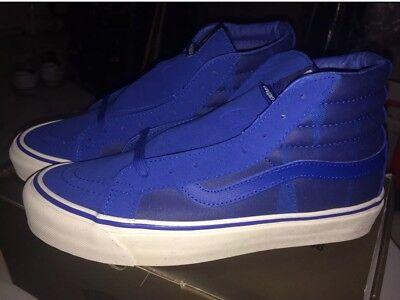 0c074dbe3a Undefeated X Vans OG SK8 Hi LX Blue Sz 7