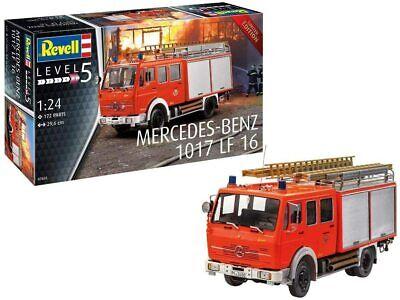 Revell 07655 Mercedes Feuerwehrauto Modellbausatz Modell Limited Edition 1/24