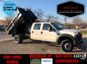 2008 Ford F-450 DUMP BOX! CREW CAB! GAS! ONE OWNER! NO ACCIDENTS!