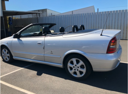 Holden astra 2004 convertible