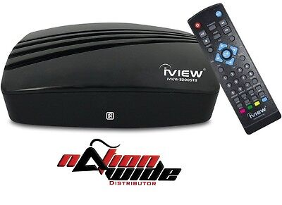 IVIEW-3200STB Multimedia Converter Box. Digital to Analog New Retail Pack