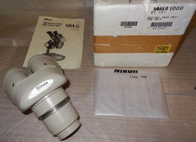 Nikon Sm-5 Stereo Microscope 76021
