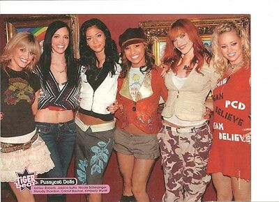 The Pussycat Dolls, Full Page Pinup