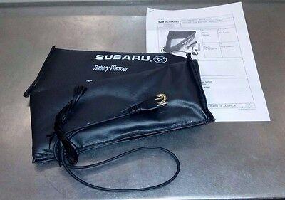Genuine Subaru OEM 80W Battery Warmer   All models   J6010FS000