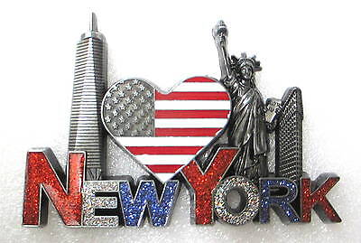 New York City Magnet, New York Souvenir Magnet, New York Fridge Magnet, D-23S