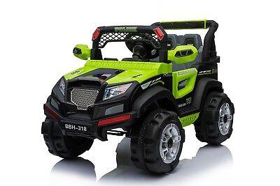 Kinder Auto Elektrofahrzeug Police Jeep Geländewagen 2x Motor SUV MP3